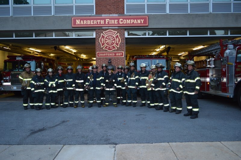 Happy New Year from the Narberth Fire Company
